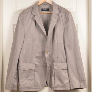 Strellson 44 Cotton Poly Single Breasted Jacket
